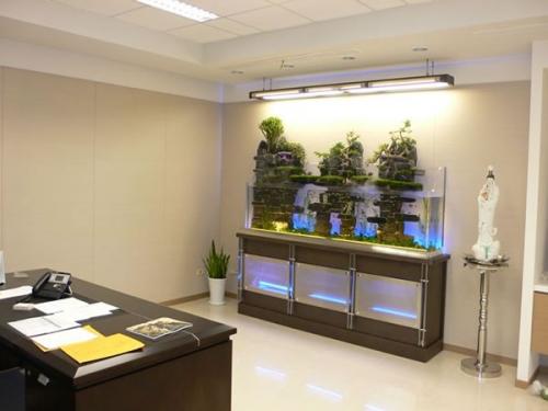 奥秘:办公室鱼缸风水