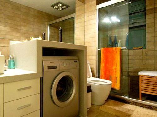 风水:卫生间洗衣机摆放的讲究